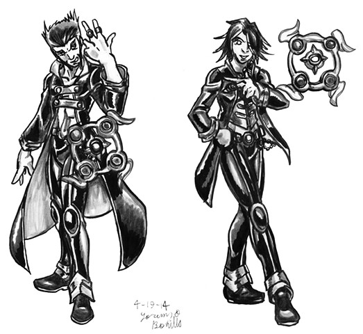 Sorcerer Class - Male and Female