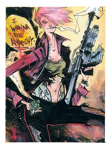Zarana... fierce Dreadnok infiltrator who's deceptively deadly!