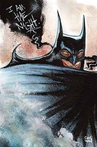 I AM THE NIGHT: a new collection of commissions, covers & random acts of fan art