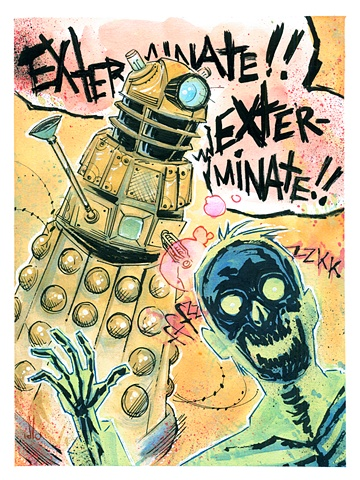 You have to appreciate the directness and candor of a Dalek.