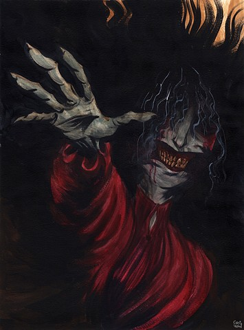 The Red Crone - hand of doom