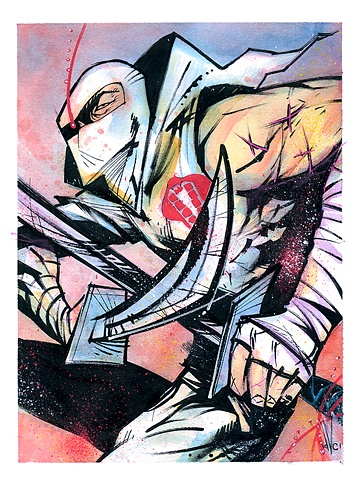 Storm Shadow of G.I. Joe vs. Cobra fame.