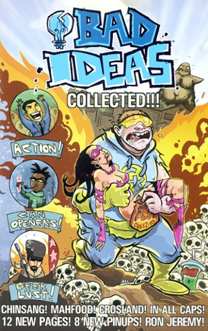 Cover art from Bad Ideas / client - Image Comics