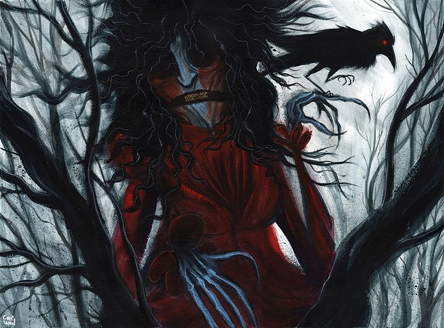 The Red Crone - a deadly legend