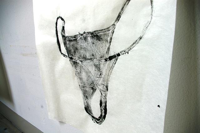Marie Lorenz, Somkey Hill River (underwear)