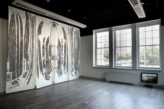 Ctrl+P installation view: Marie Lorenz