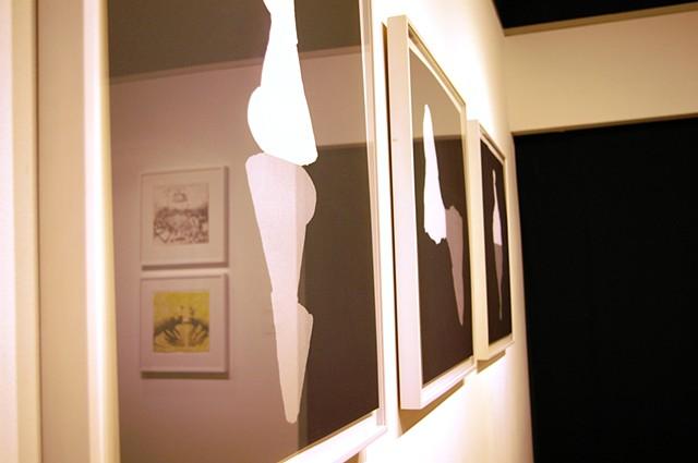 Ctrl+P installation view & detail: Kelly Sherman