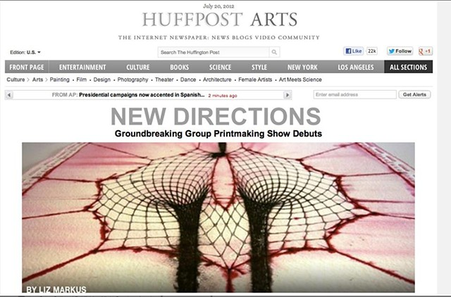 Huffington Post Banner Image and Headline