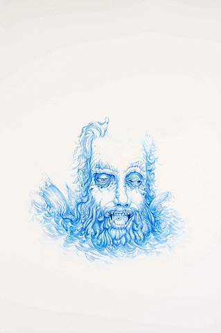ELEMENTAL WIZARD IN COLOR - WATER