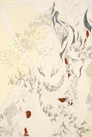 Detail 1 of THE Sylvan Oracle