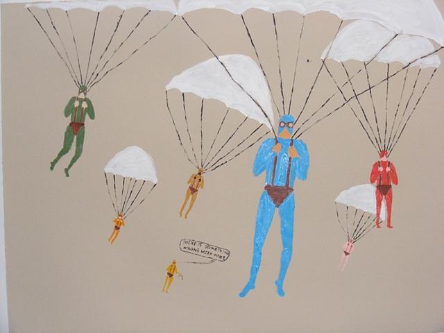Untitled (Parachuting)