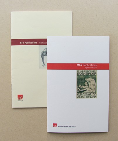 MFA Publications Rights Guide 2012–2013