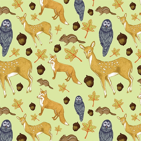 """Woodland Creatures"""
