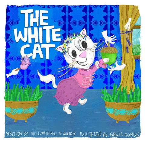 The White Cat Picture Book Cover Mock-Up
