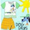 Dog Days- Children's Apparel Mock-Up