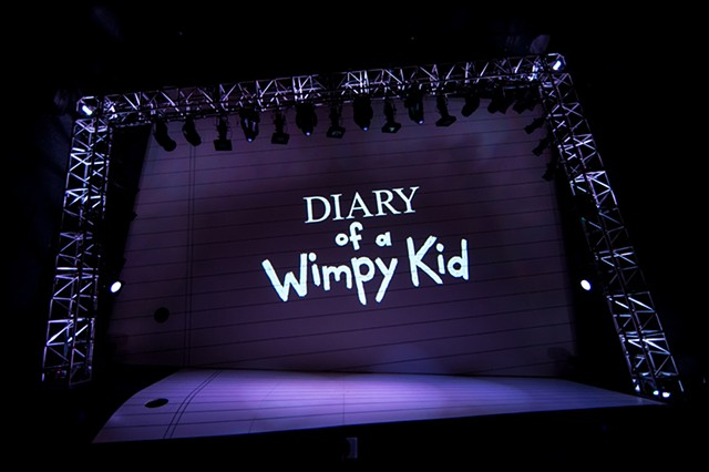DIARY OF A WIMPY KID THE MUSICAL