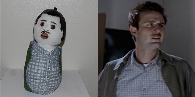 David Arquette as Dewey Riley- Scream 2- 1997
