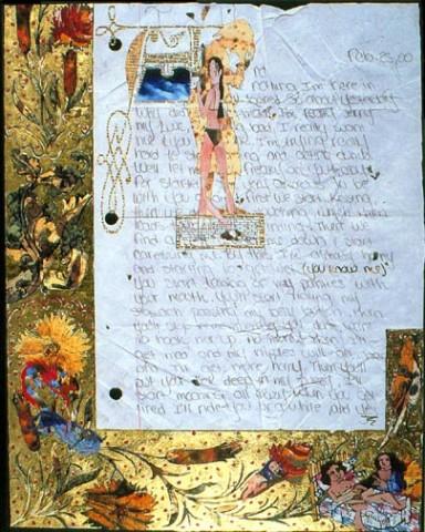 Illuminations - Love Letter,recto