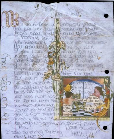 Illuminations - Love Letter,verso