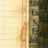 Wilson's Topical and Textual Index for Bible Students c. 1897,  Water damage