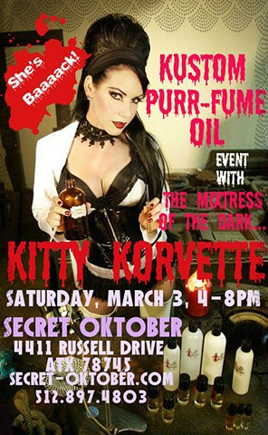 Kitty's Kustom Purr-fume Event