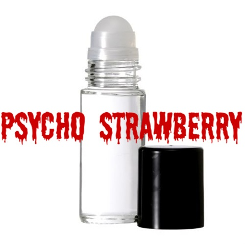 PSYCHO STRAWBERRY Purr-fume oil by KITTY KORVETTE