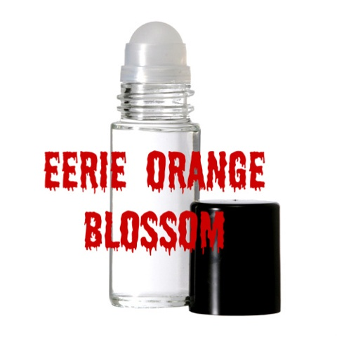 EERIE ORANGE BLOSSOM Purr-fume oil by KITTY KORVETTE