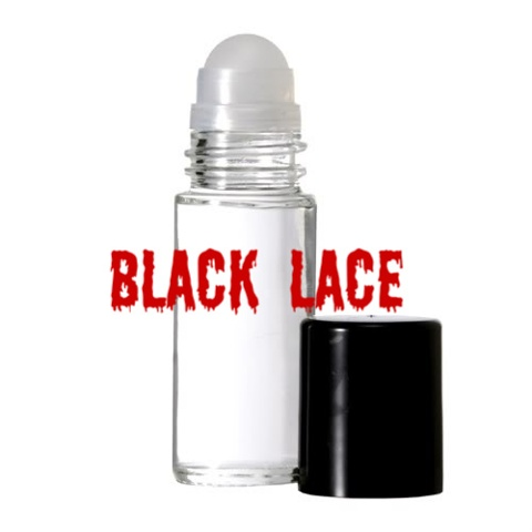 BLACK LACE Purr-fume oil by KITTY KORVETTE
