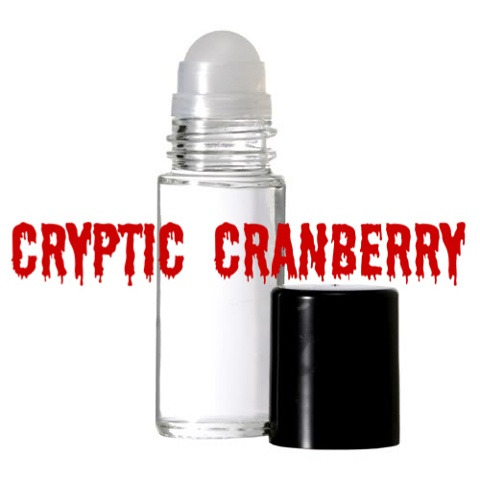CRYPTIC CRANBERRY Purr-fume oil by KITTY KORVETTE