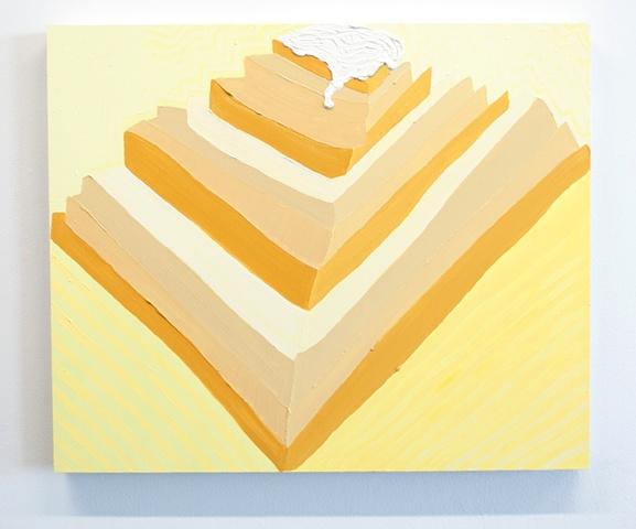 Snowcapped Ziggurat