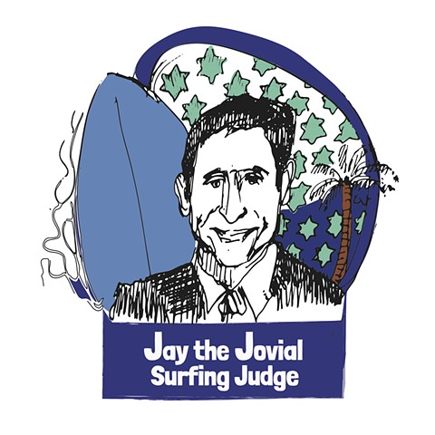 Jay The Jovial Surfing Judge