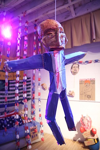 Trump Piñata (Before the Party)