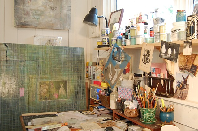 Inside the Artist's Studio by Katherine Bell McClure