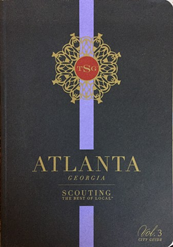 Made the Atlanta map for Scout Guide Atlanta 2015