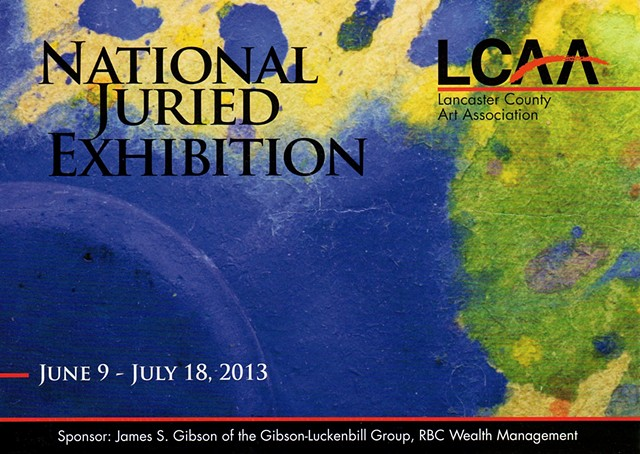 The 2013 Lancaster County Art Association National Juried Exhibition
