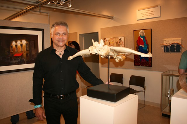 "Denis A. Yanashot with ""Anhedral Glide""."