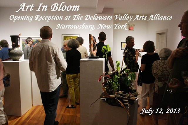 Art In Bloom at the Delaware Valley Arts Alliance