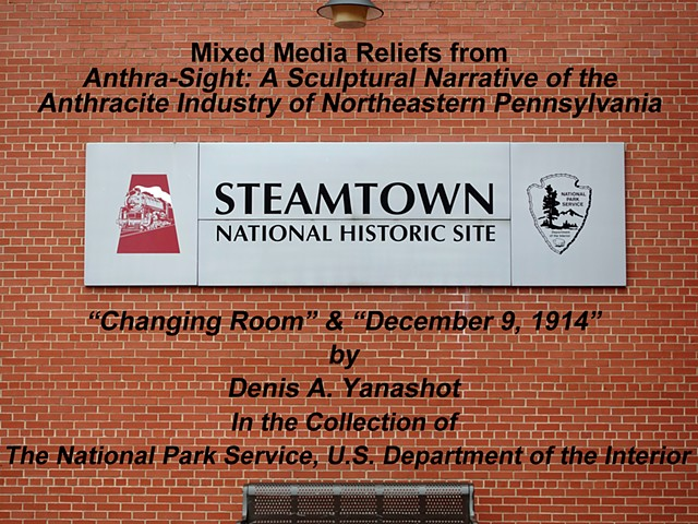 Two Yanashot reliefs in Steamtown National Historic Site Collection.