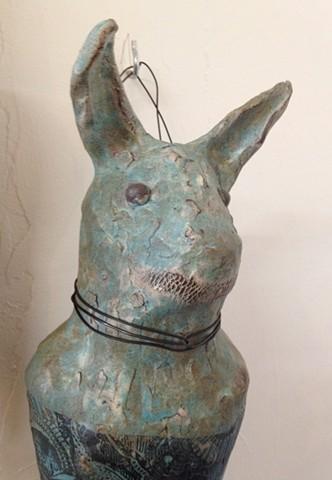 ceramic, clay figure
