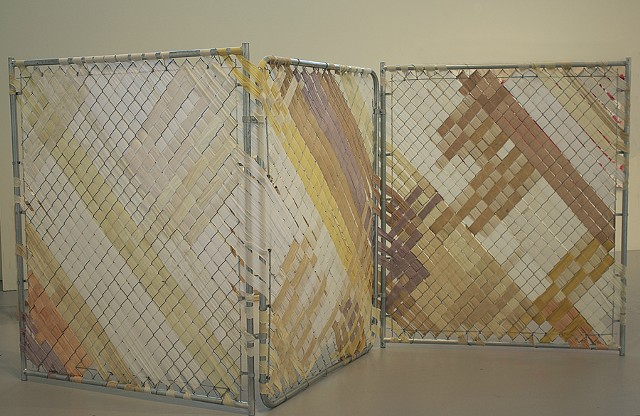 Woven Spaces, thoughts on vacant lots, Grace lee Boggs. Jaclyn Jacunski, Hyde Park Art Center Chicago Front and Center