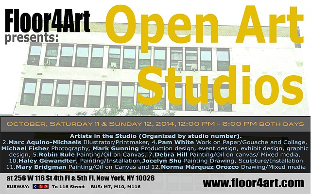 Open Art Studios Fall 2014