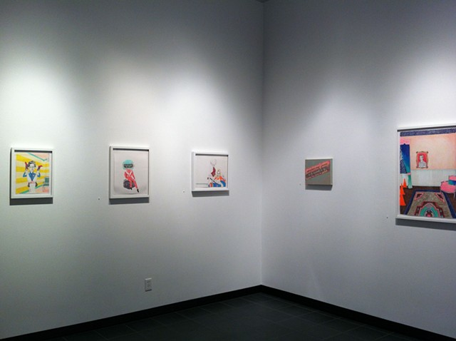 Relations Show Installation View