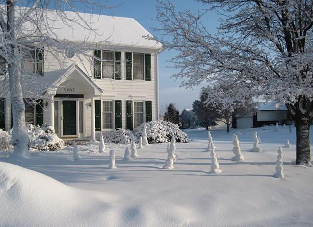 Snow Ball Towers