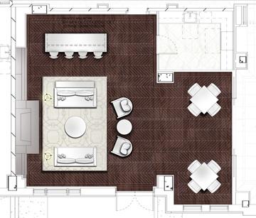 Furniture Plan: Club