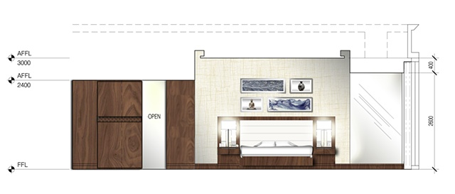 Elevation: Typical Room