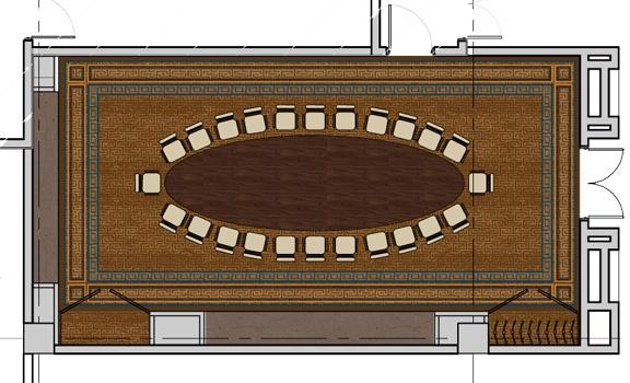Furniture Plan: Boardroom