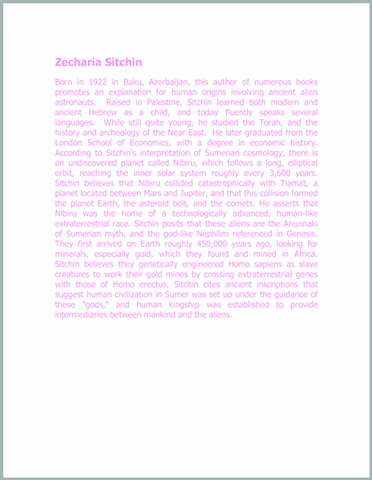 Zecharia Sitchin