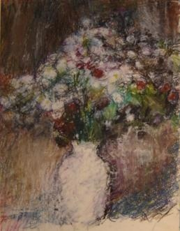 SPRING FLOWERS IN VASE  029