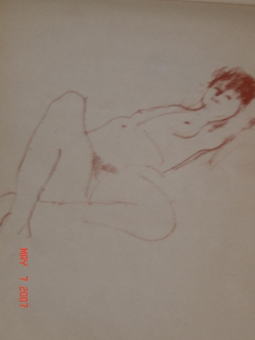 RECLINING FEMALE NUDE  08