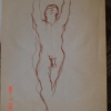 STANDING MALE NUDE 023